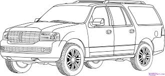 6 images of ford explorer car coloring pages how to draw a car