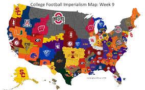 Clemson University Map Look Texas Power 5 Teams Ran Off The Map In Reddit College