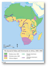 Africa Map 1914 by New Imperialism