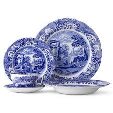 spode blue italian dinner set 20pce peter u0027s of kensington