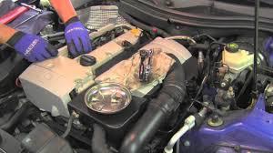 replacing spark plugs mercedes slk230 kompressor youtube