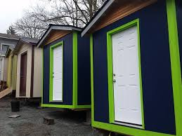 tiny house village for homeless taking shape in seattle kgw com