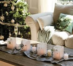 Christmas Paper Table Decoration by Diy Christmas Candle Centerpieces U2013 40 Ideas For Your Table