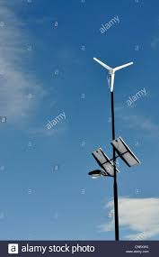 Solar Power Street Light by Solar Powered Street Light Stock Photo Royalty Free Image