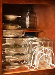 best way to organize dishes in kitchen cabinets 10 creative ideas to organize baking dishes storage on your
