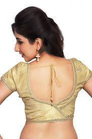 golden blouse bequest golden color designer blouse from kalaniketan com
