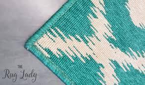 Ikat Outdoor Rug Alfresco Turquoise Ikat Outdoor Rug U2013 The Rug Lady