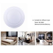 round 24w led ceiling down light recessed fixture lamp dimmable 4