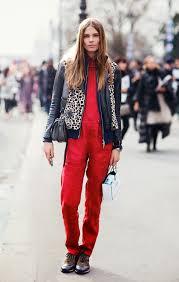 Fashion Model Resume Model Off Duty Style Caroline Brasch Nielsen Color And Prints