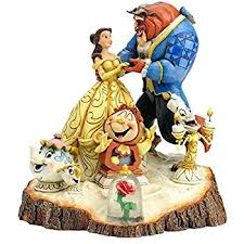 disney traditions by jim shore and the beast