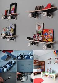 Best Boys Rooms Images On Pinterest Football Bedroom - Shelf kids room