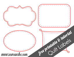 quilt labels free printable u2014 sewcanshe free sewing patterns