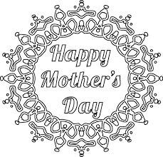 coloring pages mothers day flowers mother s day flowers coloring pages for kids printable free