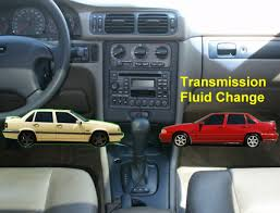 automatic transmission fluid change service volvo 850 s70