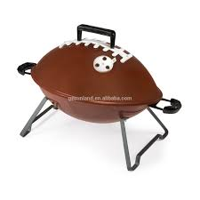 bbq grill with football helmet design bbq grill with football