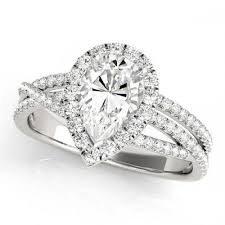 gold halo engagement rings cynthia halo engagement ring in 14k white gold