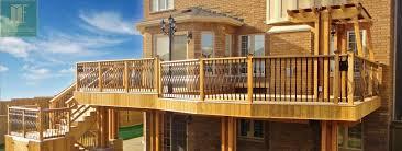 decks and fence cedar deck toronto decks design u0026 deck building
