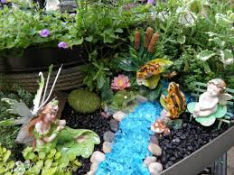 Fairy Garden Container Ideas by Plum Creek Place Playing In The Fairy Garden