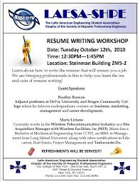 Calgary Resume Writers Resume Writing Workshop Resume Example