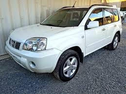 Automatic 4x4 Suv Nissan X Trail Ti 2005 White Used Vehicle Sales