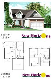 Cape Floor Plans by Model Homes U0026 Floor Plans Marion Il New Horizons Homes Inc