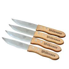 wilkinson kitchen knives custom personalized steak knife set of 8 groomsmen