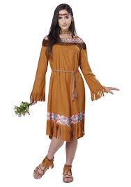 Pocahontas Halloween Costume Women Women U0027s Classic Indian Maiden Costume