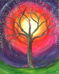 enchanted tree at cheryl cbell design and framing feb 18 2pm