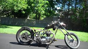 1970 triumph custom chopper bobber motorcycle bonneville harley