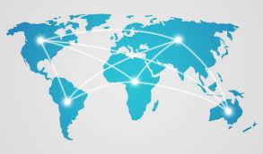 Online World Map by Developing Cross Border Business In An Online World News Fipp Com