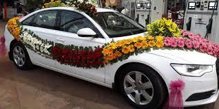 indian wedding car decoration contractor kalyana mandapam sm decorations in tiruchirappalli india