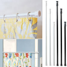 a stick to tension shower curtain rod u2014 the homy design