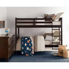 espresso twin bed dorel living dylan espresso twin bunk bed fa7519e the home depot