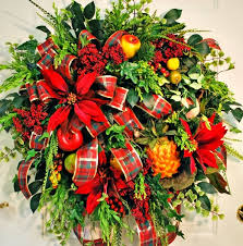 Decorating Christmas Wreaths by The Domestic Curator Christmas Wreaths What All The Best Dressed