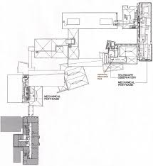 plan of science center u0027s third floor and roof