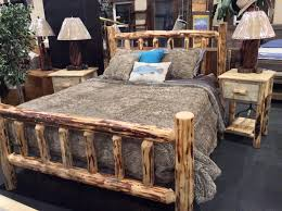Log Cabin Bedroom Furniture by Montana Pioneer Rustic Log Bed For The Home Pinterest Log