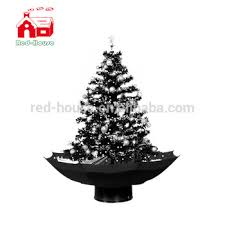 christmas tree artificial snow fall umbrella base christmas tree artificial christmas tree