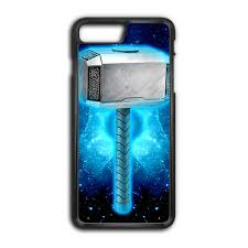 mjolnir thor hammer iphone 8 plus case caseshunter