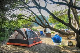 Carpinteria State Beach Campground Map by Manresa State Beach Camping Near Santa Cruz Ca