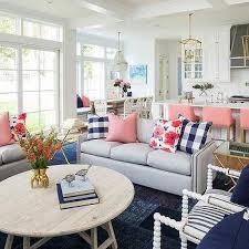 blue and gray sofa pillows blue buffalo check sofa pillows design ideas