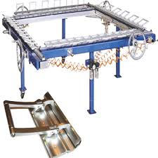 Stretching Table Welcome To Charen Machines Cheran U0027s Pneumatic Stretching Clamp