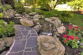 Rock Water Features For The Garden Rock Garden Features Ghanadverts Club
