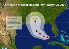 hurricane katrina forecasts vast improvement in meteorology over