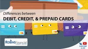 pre paid cards differences between debit credit prepaid cards robins