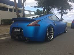 nissan 370z air suspension so this 370z on air suspension just parked outside my house more