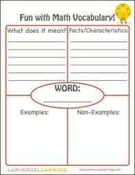 teaching math vocabulary math vocabulary vocabulary and how to use