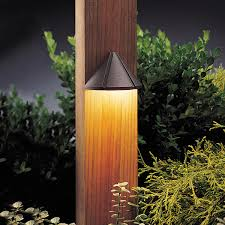 Kichler Outdoor Led Landscape Lighting Mini Deck Light In Architectural Bronze Simple And Versatile