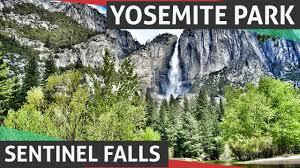 Yosemite Topo Map Yosemite National Park Sentinel Falls Youtube