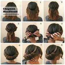 Hochsteckfrisurenen Zum Nachmachen Kurze Haare by Die Besten 25 Schulterlanges Haar Ideen Auf Medium