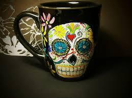 sugar skulls for sale day of the dead sugar skull mug for sale by inkydreamz on deviantart